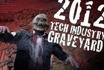 2012 technology graveyard (halloween) / by B.S. Brown