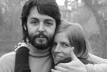 Linda & Paul McCartney / Paul and Linda McCartney  / by Kaitlyn Ryder