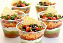 Recipes: Appetizer / Appetizer recipes include finger foods, kid-friendly, bite-sized as well as dips for every inclination! / by Ryann Salamon