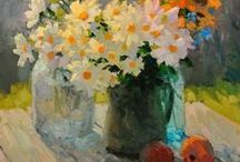 Art - Figure & Still Life / More artists and art I could easily live with. Objects, interiors and individuals... / by Mary Byrom