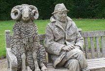 baaaa ram Ewe & Friends too / Mary had a little lamb and Billie wants one..sooo cute / by Billie Miller