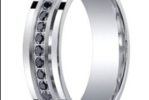 Alternative Wedding Rings for Men / Are traditional wedding bands just not your thing? Fortunately there are plenty of contemporary options that are classic yet distinctively modern, and a far cry from the standard plain gold bands. From tungsten to cobalt chrome to black titanium wedding bands, here are some of our favorite alternative wedding rings for men. / by JustMensRings.com