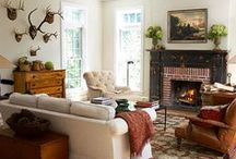 Living room inspiration / by Traci Yates