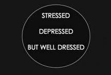 自分をドレスアップ / What I hope one day my wardrobe will look like, I find black aesthetically pleasing. / by Michelle Triangle