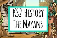The Mayans / KS2 Resources for the Ancient Mayan Civilization / by twinkl Primary Teaching Resources