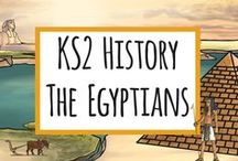 The Egyptians / Resources for KS2 Ancient Egypt / by twinkl Primary Teaching Resources