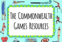 Commonwealth Games / Resources for the Commonwealth Games / by twinkl Primary Teaching Resources