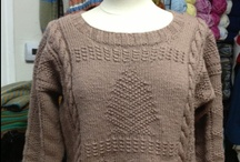 Projects at the shop / by Cornwall Yarn Shop, Ltd.