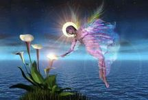 Angels / The spirit world is far more real then our world and the angels are all around to help us.   / by Cherokee Billie