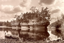 Wisconsin Dells History - Our Story / Today's toddlers, tweens and teenagers think of Wisconsin Dells as a shiny, new vacation spot. Little do they know that the Dells is over 150 years old! It was back in 1856 that Wisconsin Dells, then known as Kilbourn City in honor of the railroad's president, was incorporated.The name did not stick. In 1931, it was officially changed to Wisconsin Dells, the name the locals and tourists had always used. / by Wisconsin Dells