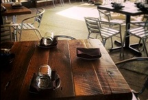 Reclaimed Wood Restaurant Table / by Reclaimed Wood, Inc.