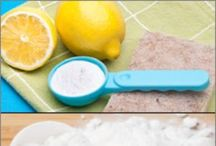cleaning tips / by Jen Middleton