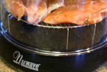 Nuwave oven / by Cassie Grant