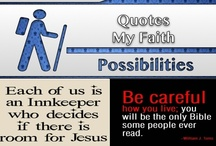 My Faith [Quotes] / #Christian, #Inspirational, #Motivational / by C. A. Hutsell