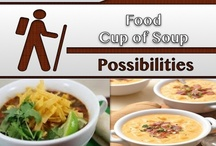 Cup of Soup & More / #Recipes, #Soups / by C. A. Hutsell