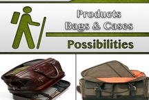 Bags & Cases [Products] / #Briefcase, #Electronic_Cases, #Computer_Cases / by C. A. Hutsell