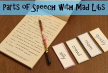Writing/Language / classroom ideas for writing and language skills / by Melissa Smugala
