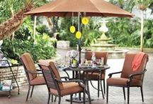 1 Patio: 3 Ways / It's easy to transform your patio to an outdoor oasis. It can be used to relax with friends, host quality time with the family or set the stage for a romantic date night. No matter what your style, the right outdoor furniture and accessories can help create the backyard of your dreams! / by American Signature Furniture