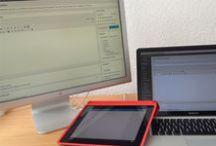 Social Media: Bloggen / Tipps und Tricks zum Thema Bloggen / by Kristine Honig-Bock