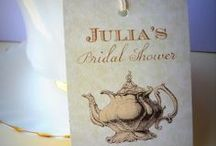 Julia's Bridal Shower Ideas / Ideas for Julia's bridal shower. / by Tova Dian Dean