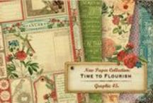 Sneak Peeks: Introducing Time to Flourish! / by Graphic 45®