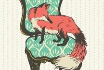 Foxy Foxes / by Hannah Jones