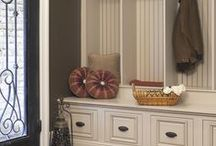 Porches and mudrooms / ideas for designing our new porch and mudroom area!  / by Mosey Photography
