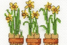 Cross stitch  .... & Spring  / by Małgorzata Czyżewska