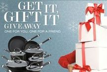 Get It, Gift It / 'Tis the season for holiday entertaining, giving, and gifting.  / by Circulon