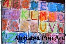 Learning ABC's / by Nikki Rosenzweig Hinkle