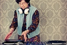 "DJ / DJ - turntable - music entertainer - plaatjesdraaier - muziek - vinyl - LP - records - platen - 12"" - platenspeler - disk jockey - funk - Pfunk - soul - afro beats -  gospel - Afro-Cuban rhythms - world music - deep house - dub - minimal - electro  -  / by Iris Wilbrink"