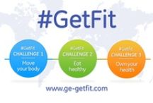 #GetFit / #GetFit is a cooperative journey around the world. Challenge your friends. Join a team #GetFit and Fight cancer / by GE