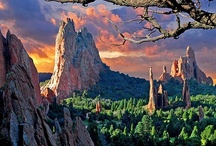 Colorado Springs, Colorado / At the foot of Pikes Peak, we unveil a Western vacation at an altitude all its own. See what awaits you at this unique intersection of mountain and plains - the charming, hilly city of Colorado Springs and it surprising delights / by Inspirato with American Express