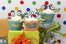 Monster Party Theme / Cool ideas and products for a kids monster theme birthday party! / by Ginger Ray