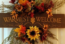Fall/Halloween/Thanksgiving / by Amy Filberth