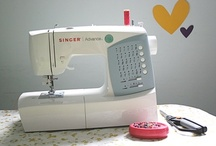 Now that I have a sewing machine, I now need to find TIME :) / by Rebecca Grace