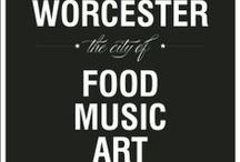 Destination Worcester / Things to see and do while visiting Worcester Massachusetts !  / by Amy Lynn Chase