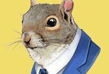squirrels / by Hi-D Loose