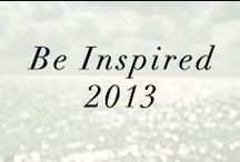 be inspired-2013 / by Anne Book