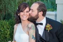 vegas wedding | tattooed brides / Gorgeous brides with tattoos getting married in Las Vegas / by Little Vegas Wedding