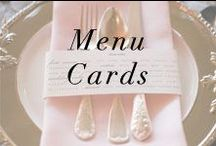 Menu Cards / by Anne Book