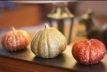 "ideas | ""gourd"" autumn + halloween wedding ideas / Pretty pumpkins to add a bit of autumn appeal to a guestbook table or tablescape at your fall wedding / by Little Vegas Wedding"