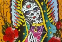 day of the dead virgin of guadalupe / by Killerdolly666