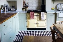 k i t c h e n s / kitchens that I like / by Sam Linsell | Drizzle and Dip