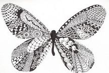 Zentangles and Doodling / by Tina Sanders