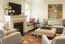 Living Rooms / Cozy living rooms, halls and entryway spaces. / by Kim Roberts