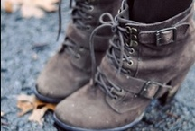 Stuff I Would Totally Wear / Boots, Casual, Dressy, Outlandish, Whatever...Honestly - I would wear each of these.  (Perhaps even at the same time...) / by Lisa Taylor@ItsOwnSweetWill.Neebeep.Com