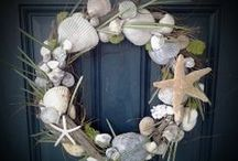 Wreaths  / Just because I hate a bare front door / by Maryanne McCurry