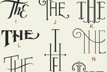 Typography / by Clarisse Neri