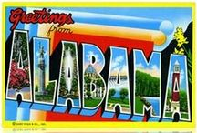 Alabama❤️✨✨❤️ / I am from the Great State of ALABAMA, and I am proud of it. / by Peggy Parris Fortune